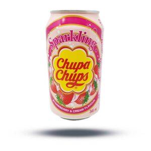 Chupa Chups Strawberry and Cream Flavour