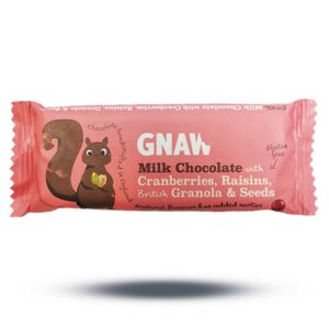 Gnaw Milk Chocolate with Cranberries