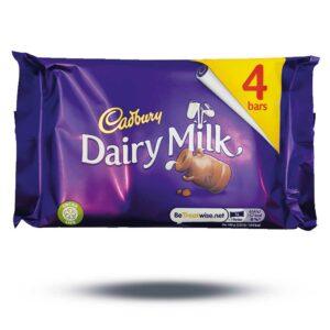 Dairy Milk 4 Bars