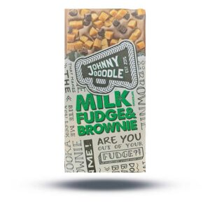 JOHNNY DOODLE – Milk Fudge & Brownie Schokolade