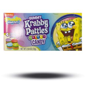 Gummy Krabby Patties Colors Candy