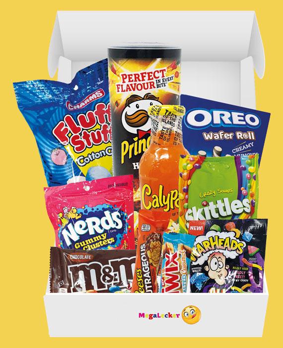Mega Lecker Amerikanische Süßigkeiten