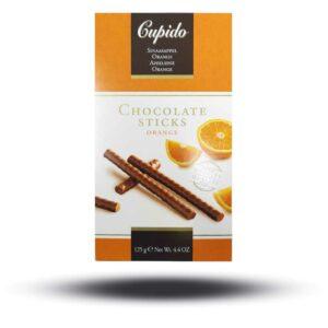 Cupido Chocolate Sticks Orange
