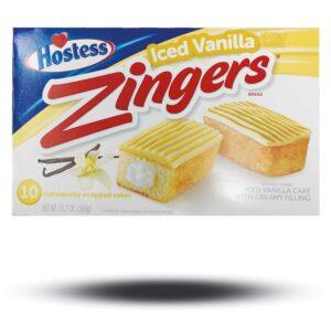 Hostess Iced Vanilla Zingers