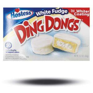 Hostess White Fudge Ding Dongs